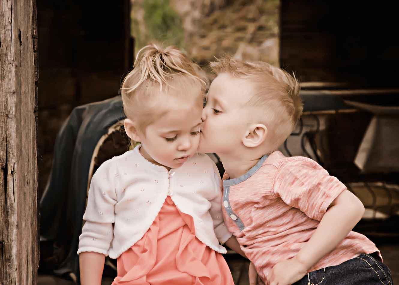 First Kiss kids love.