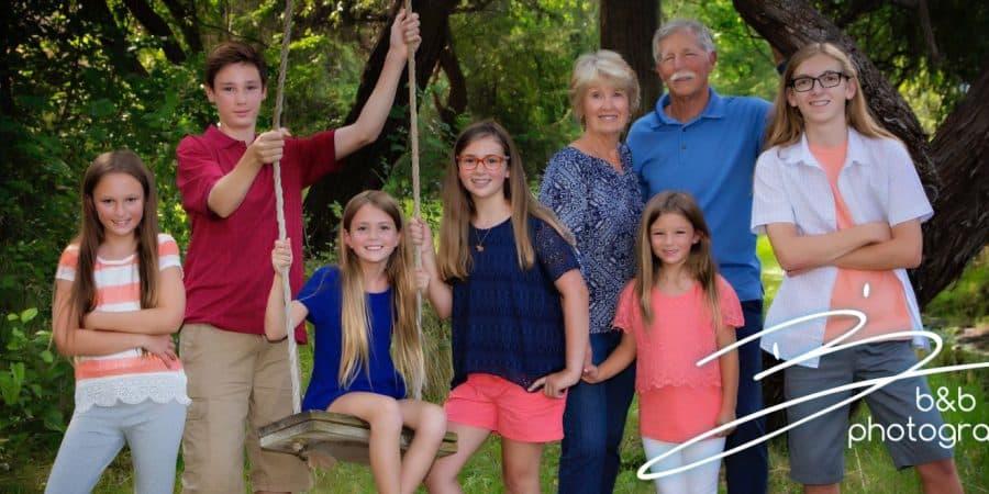 A Family professional family photo.