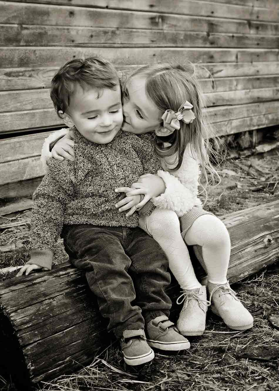 Kids pure love.