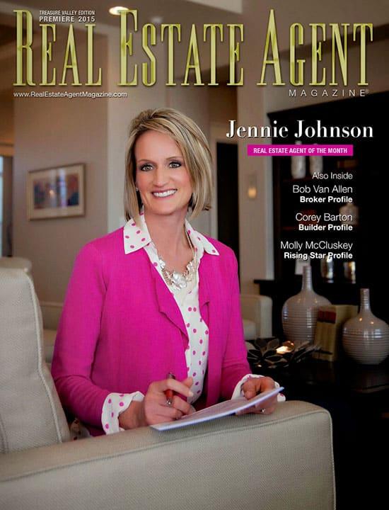 Real Estate Agent magazine cover