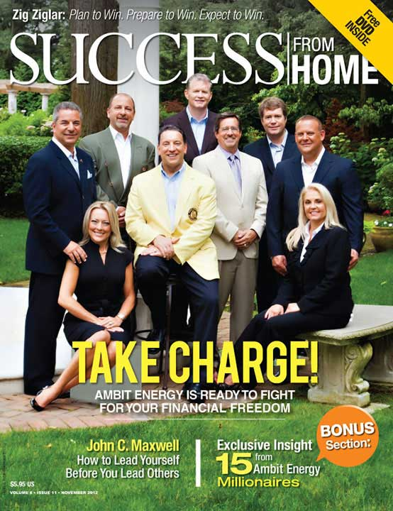 Success From Home magazine cover