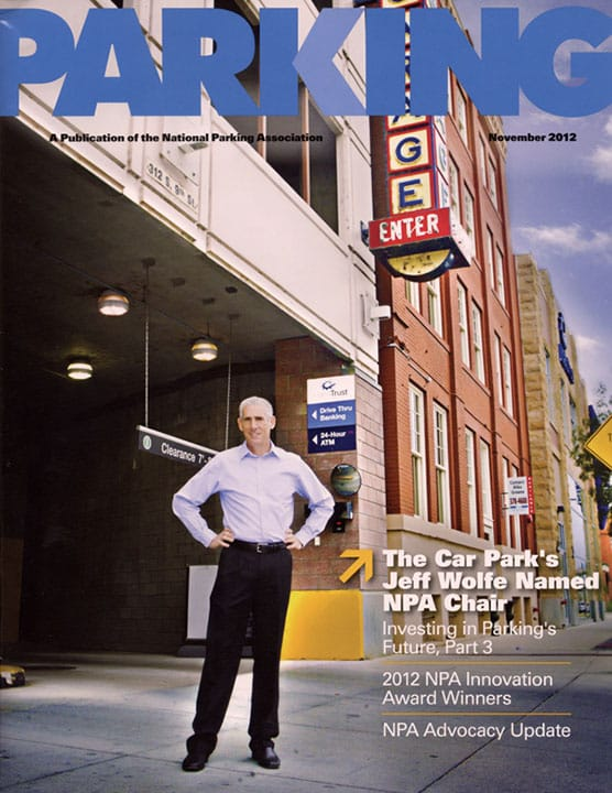 Parking magazine cover