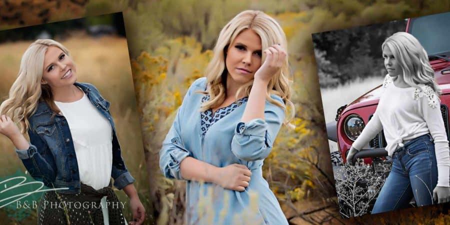 A set of Perfect Senior Photos
